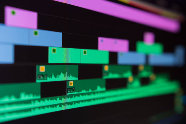video editing software screen