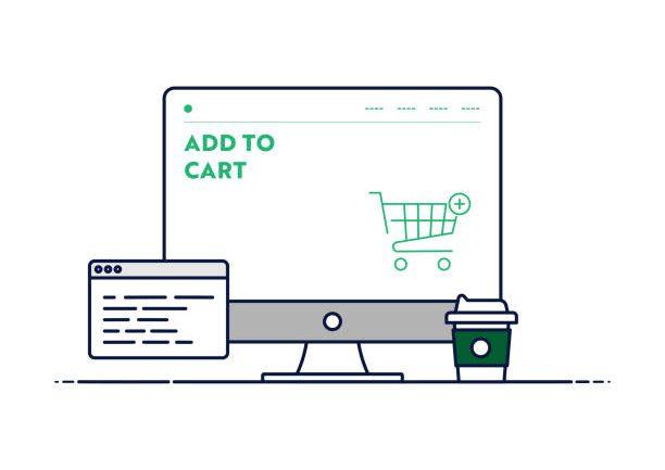 e-commerce site layout